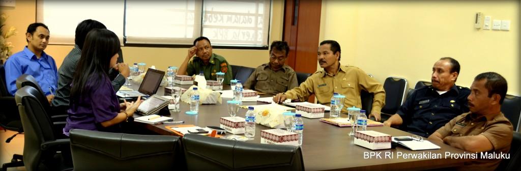 Proses diskusi dan Pembahasan Juknis