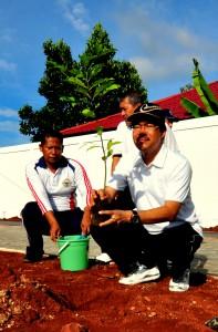 Penanaman Pohon Oleh  M. Satria Budi, S.E. M.Si