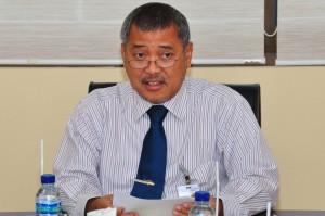 Sambutan dari Kepala Perwakilan BPK RI Provinsi Maluku, Bapak Drs.Darwin Wibawa.M.M.