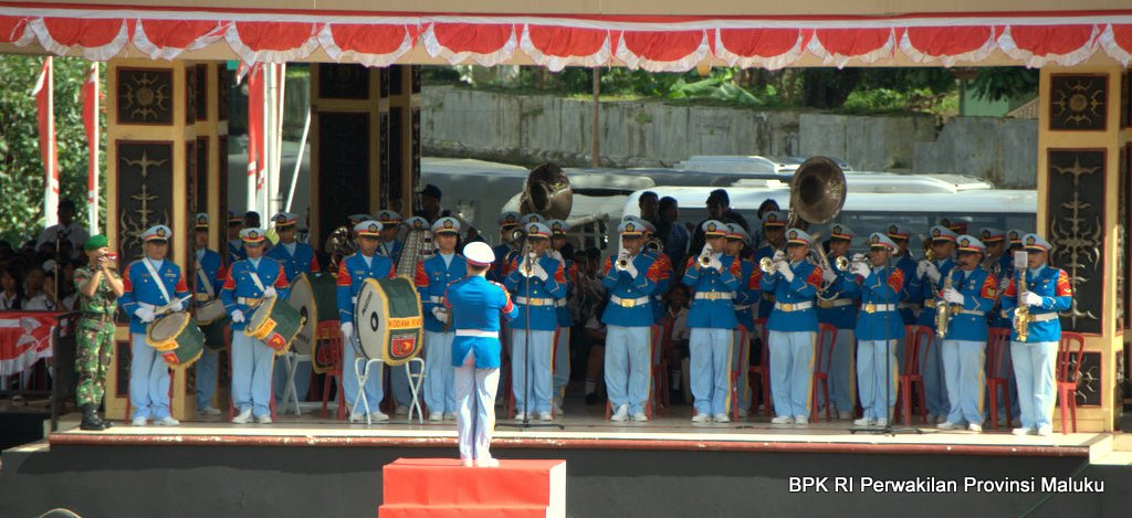 Tim Marching Band TNI AD