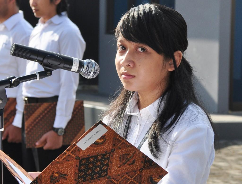 Master Of Ceremony, Sdri. Rika Mayangsari
