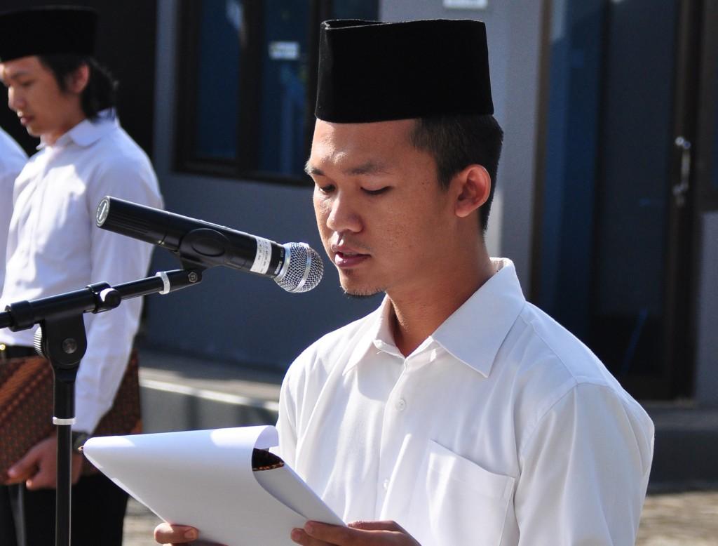 Pembacaan Doa oleh, Sdr. Eka Toga Subardi