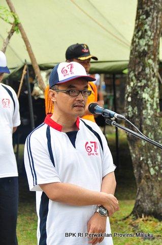 Sambutan dari Kepala Perwakilan, Bapak Novian Herodwijanto, sekaligus membuka acara Family Gathering