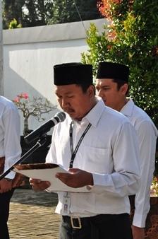 Saudara Agus Adi Priyanto Membacakan Doa
