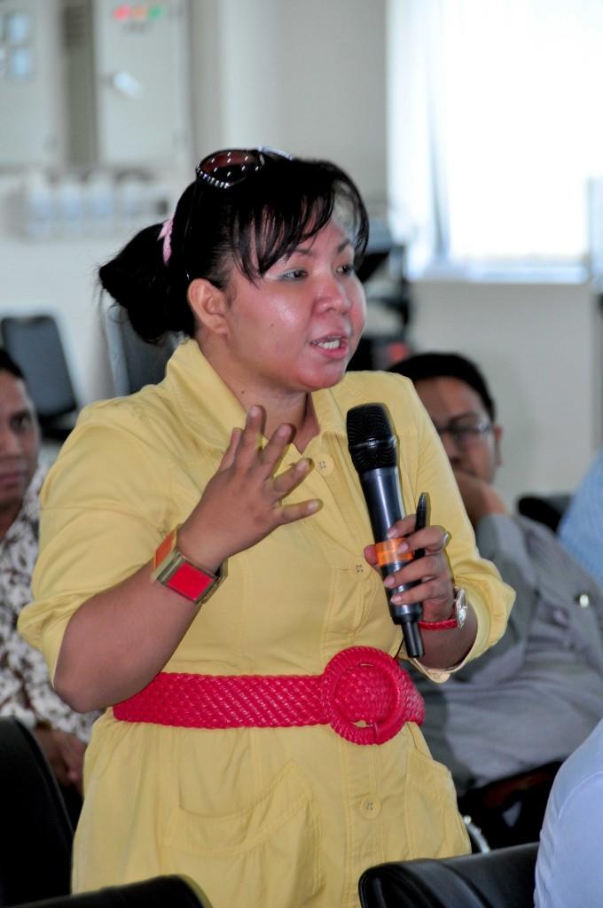Peserta Media Workshop Bertanya Terkait Tugas dan Fungsi BPK RI